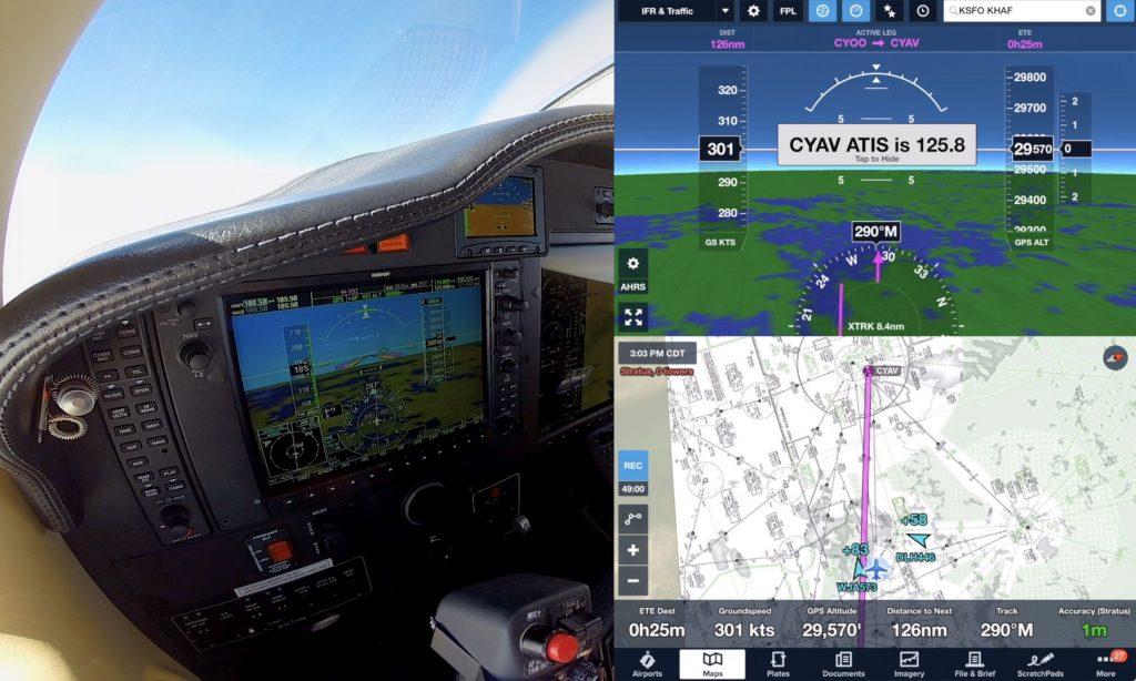 TBM850: Flying Fast, Far, and High! Mini Airliner – RVSM FL300 + Tough CrossWind Landing ForeFlight