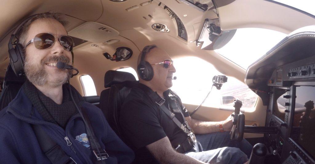 TBM850: Flying Fast, Far, and High! Mini Airliner – RVSM FL300 + Tough CrossWind Landing - Crew