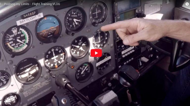 IFR - Pushing my Limits - Flight Training VLOG - Flight Chops
