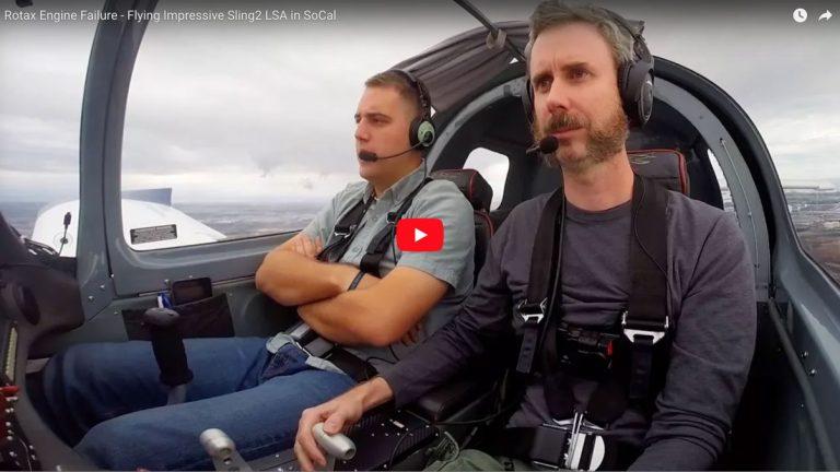 Rotax Engine Failure - Flying Impressive Sling2 LSA in SoCal - Flight Chops