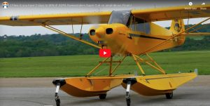 Easiest Airplane I've ever Landed - Super Cub on Amphibious Floats