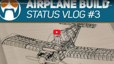 Work Begins! + 1st Part Destroyed - Deburring - Airplane Build VLOG #3