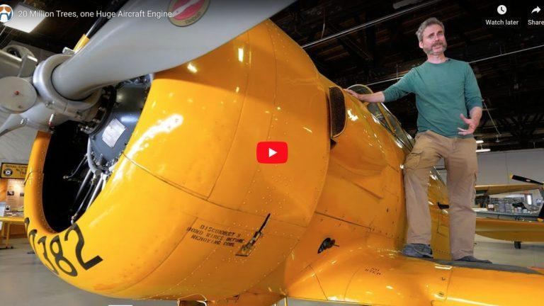 20 Million Trees, One Huge Aircraft Engine
