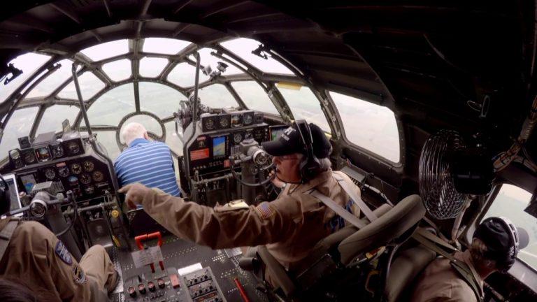 Crawl through a B-29 Superfortress IN FLIGHT! + Real-Time procedures / ATC – Oshkosh AirVenture!