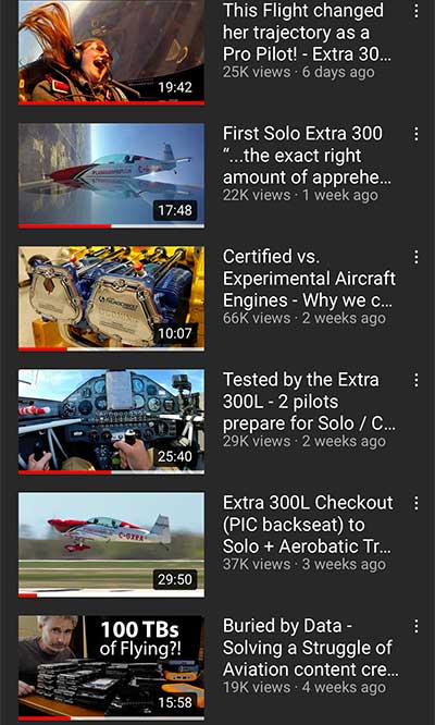 Recent Videos Posted